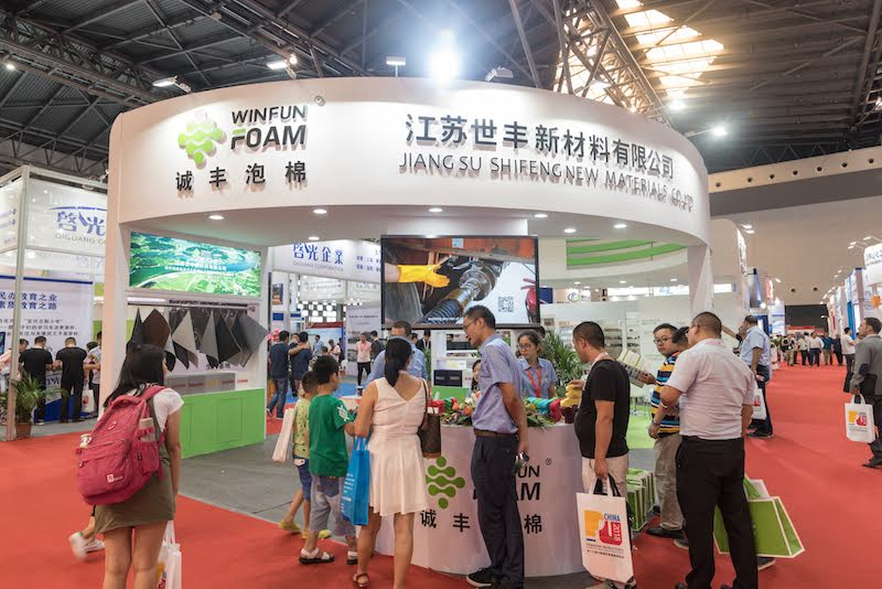 Booth at PU China 2018