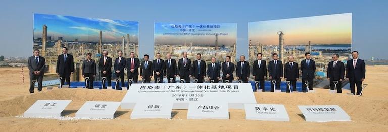 BASF passes first China milestone